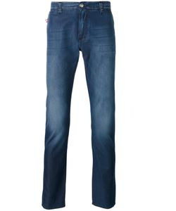 Isaia | Faded Slim Fit Jeans