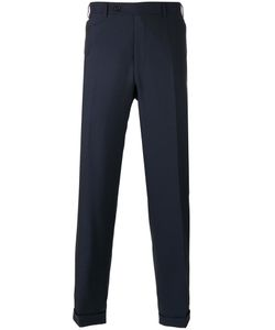 Canali | Regular Pleated Trousers Size 48