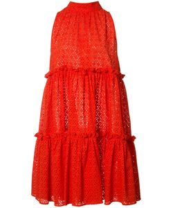 Lisa Marie Fernandez | Ruffled Fla Dress 2 Cotton