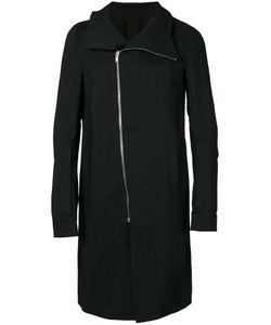 Rick Owens | Пальто Со Смещенной Молнией