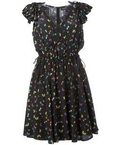The Kooples   Ladybird Dress Xs Silk/Polyamide/Polyester