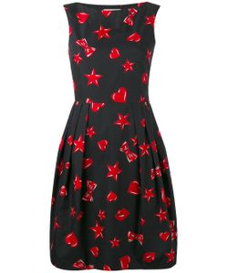 Moschino | Heart And Star Print Dress