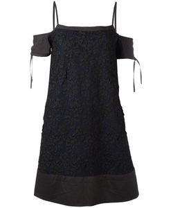 Diesel Black Gold | Lace Dress 40 Polyamide/Polyester/Cotton