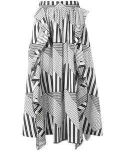 MSGM | Graphic Print Skirt 44