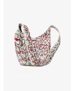 Elisabeth Weinstock | X Re/Done Graffiti Shoulder Bag Leather