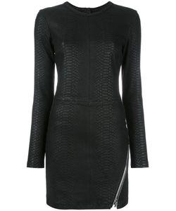 RTA | Fitted Leather Dress 10 Lamb Skin