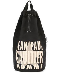 JEAN PAUL GAULTIER VINTAGE   Logo Bucket Neoprene Bag