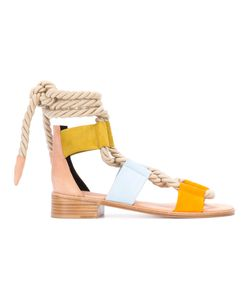 Pierre Hardy | Panel Rope Tie Sandals Size 40