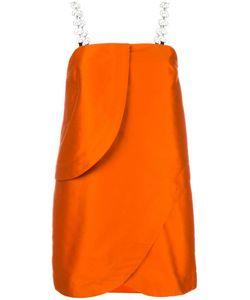 Isa Arfen   Strappy Spiral Blouse 10 Polyester/Polyamide/Cotton