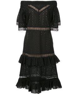 Prabal Gurung | Off-Shoulder Tiered Ruffle Dress Women