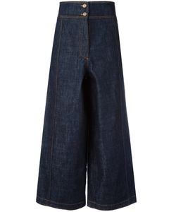 Kenzo | Cropped Wide-Leg Jeans 36