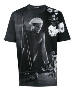 Dolce & Gabbana | Футболка С Принтом Marlon Brando