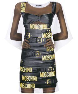 Moschino | Oversized Printed Mini Dress 44 Cotton/Other Fibers