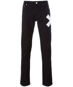 Kenzo | X Print Slim-Fit Jeans 29 Cotton/Spandex/Elastane/Polyester