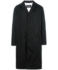 Raf Simons | Single Breasted Coat 50 Nylon/Linen/Flax/Polyester