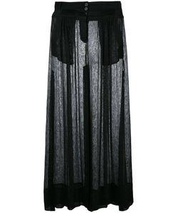 Ann Demeulemeester | Geza Skirt 36 Cotton/Linen/Flax