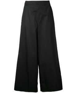 ASTRAET | Wide-Leg Cropped Trousers 0 Cotton