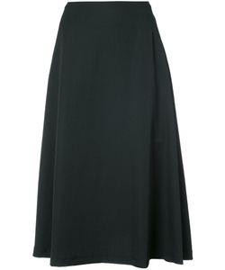 Y'S | Flared Midi Skirt