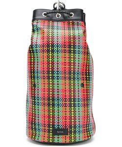 Paul Smith | Checked Bucket Backpack