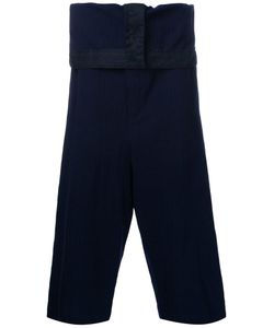 Maison Mihara Yasuhiro | Drop-Crotch Pinstripe Trousers 48 Wool