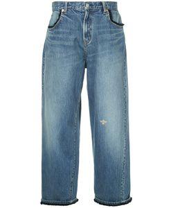 Undercover | Cropped Wide-Leg Jeans Women 2