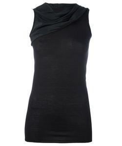 Rick Owens Lilies | Draped Sleeveless Top Size 42