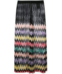 Missoni | Sheer Panel Zig Zag Skirt Size 44