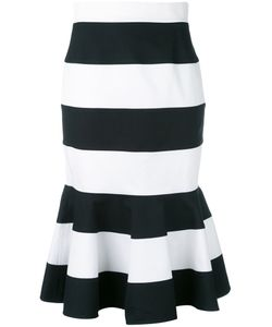 Dolce & Gabbana | Striped Peplum Skirt