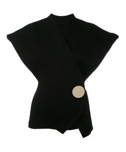 JACQUEMUS | Sleeveless Wrap Cardigan 36