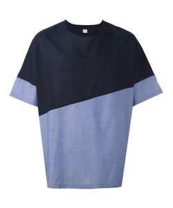 E. Tautz | Colour Block Wide Fit Collection T-Shirt Small