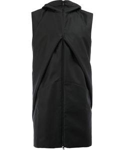 MOOHONG | Hooded Sleeveless Jacket Size 48