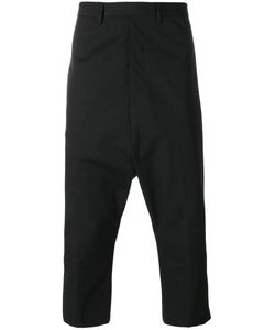 Rick Owens | Extreme Cropped Trousers 52 Cotton/Rubber/Cupro