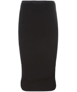 Rick Owens | Pillar Pencil Skirt 42 Cotton/Viscose/Spandex/Elastane