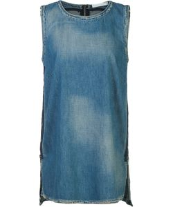 Victor Alfaro | Denim Tank Top 4 Cotton