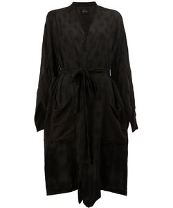Lost & Found Ria Dunn | Asymmetric Belted Coat Size Small