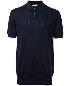 Éditions M.R | Ribbed Polo Shirt