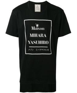 Maison Mihara Yasuhiro | Logo-Print T-Shirt Size 48