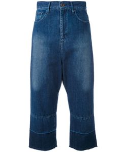 Y'S | Cropped Wide-Leg Jeans 1