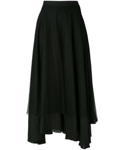 ANDREA YA'AQOV | Mesh Layered Midi Skirt