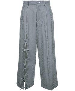 FACETASM | String Cropped Pants 2 Tencel/Cotton