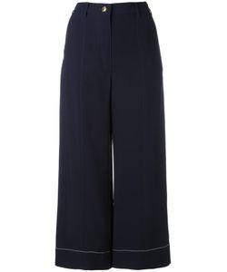 Sonia Rykiel | Cady Cropped Pants 34 Spandex/Elastane/Viscose