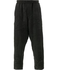 BY WALID | Morton Embroide Trousers Large Cotton/Linen/Flax