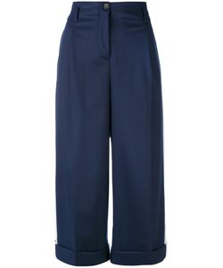 Semicouture | Classic Cropped Trousers 42