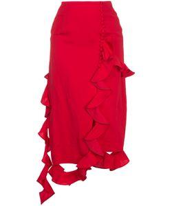 Irene | Asymmetric Frill Skirt Women