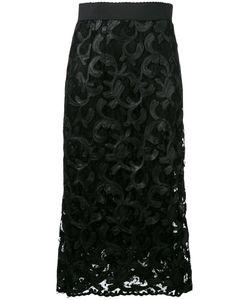 Dolce & Gabbana | Lace Midi Skirt