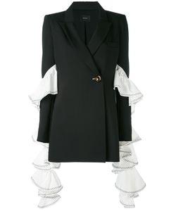 Ellery | Extended Ruffle Sleeve Blazer