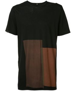 ZIGGY CHEN | Block Print T-Shirt 52 Cotton