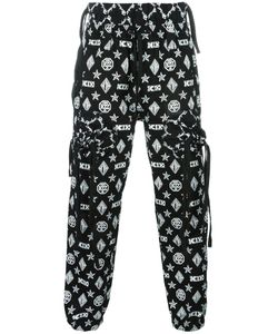 Ktz | Gathe Pockets Track Pants Small Cotton