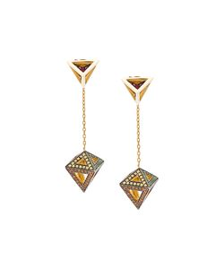 Noor Fares | Octahedron Earrings Women One