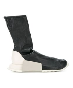 Rick Owens | Adidas Level Sock Trainers 7 Leather/Rubber
